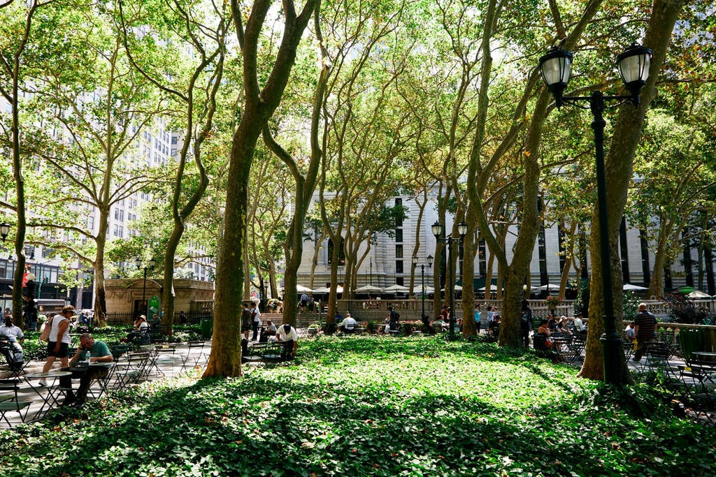 Bryant Park & the New York Public Library