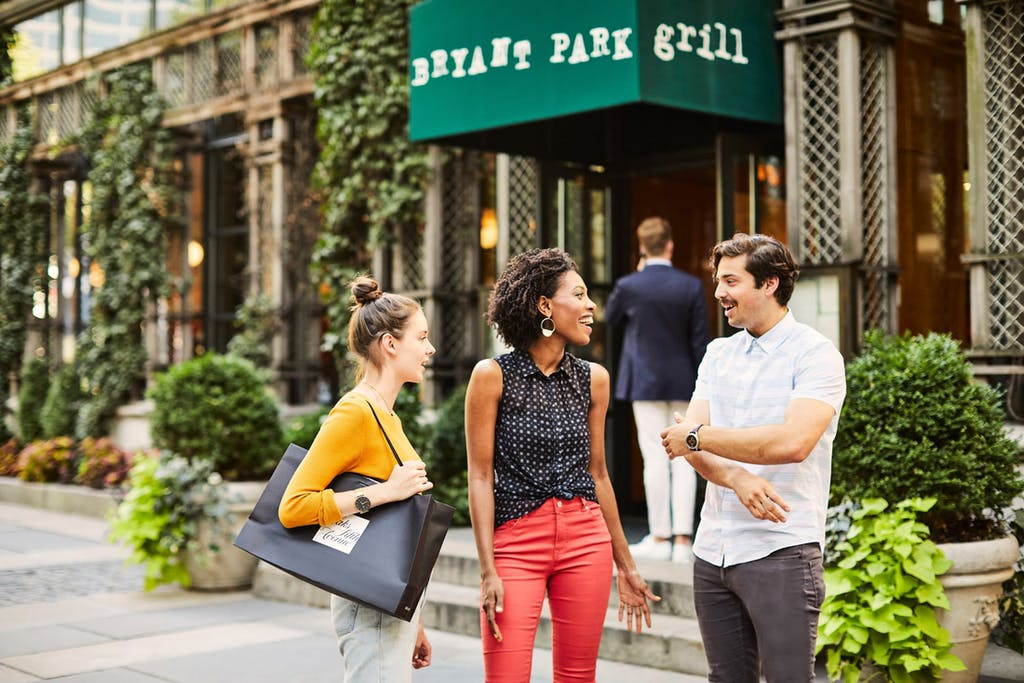Bryant Park Grill restaurant in Midtown