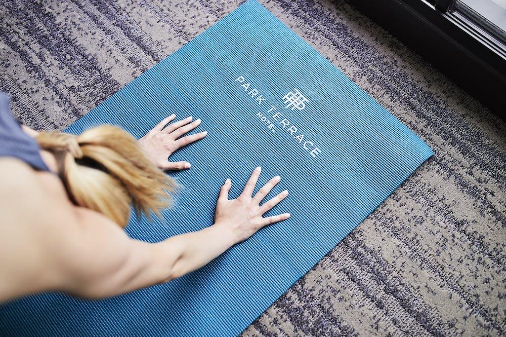In Room Yoga Mat