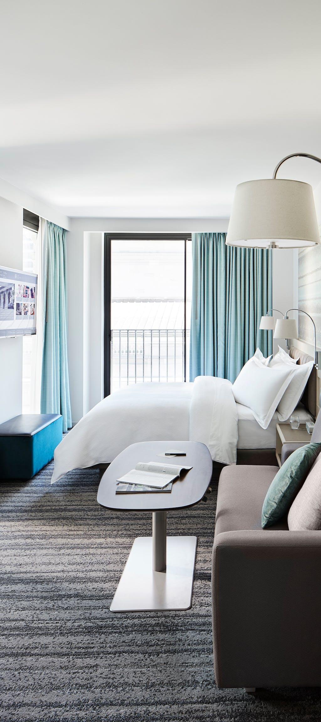 Park Terrace Hotel Rooms