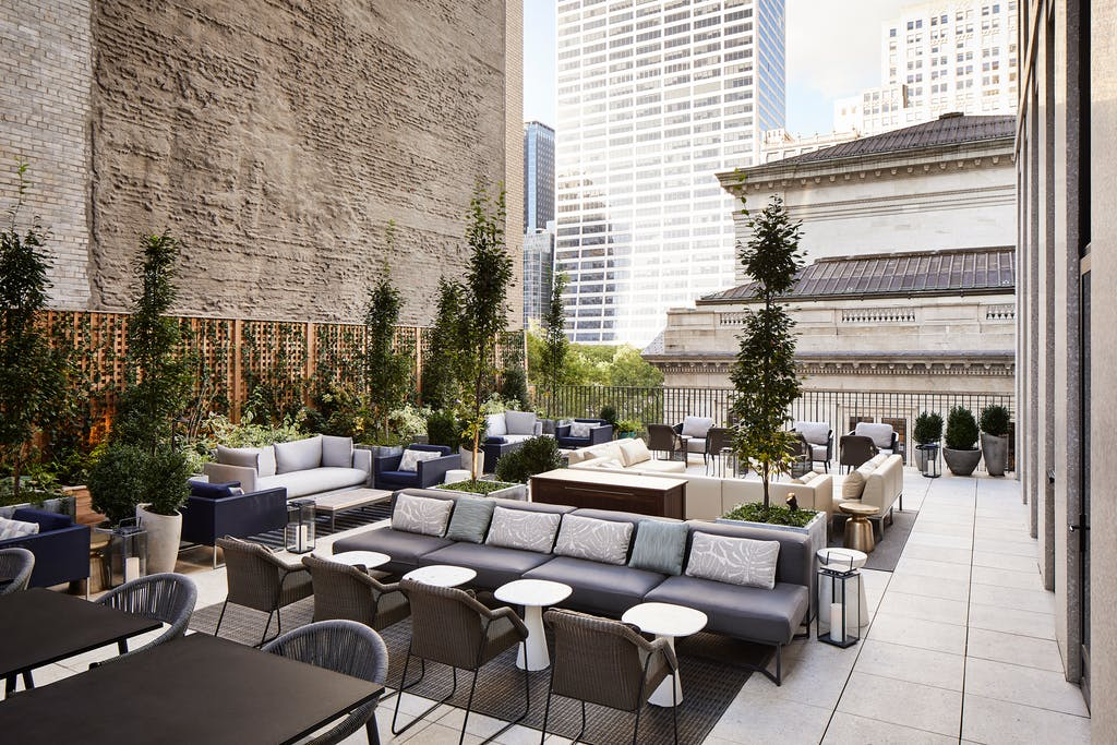 Terrazzo Terrace Lounge New York Rooftop Bar Park