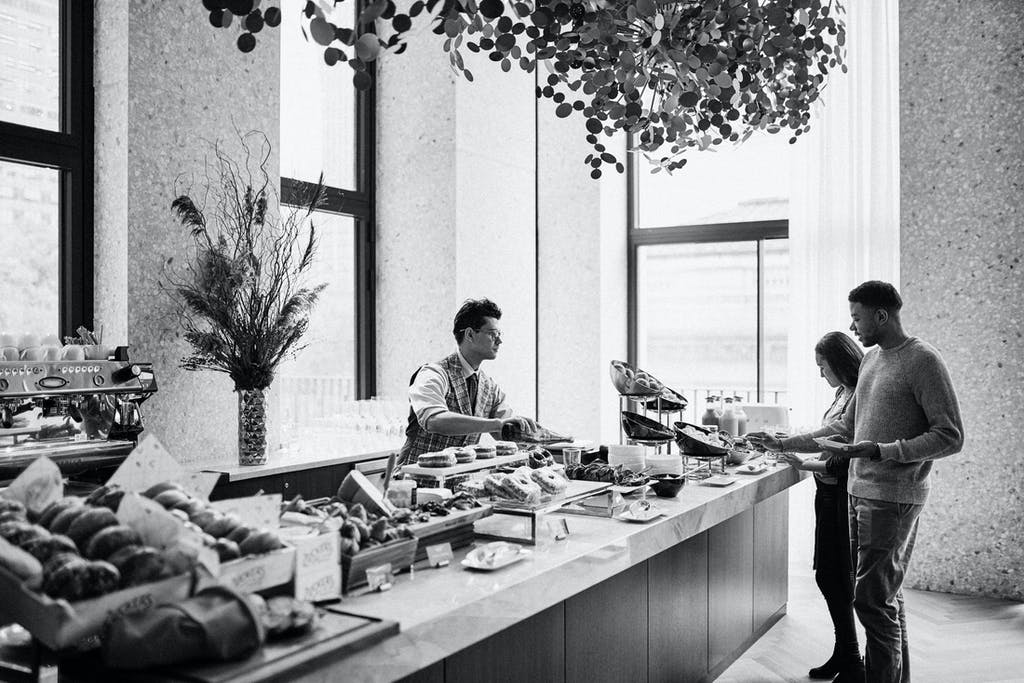 Breakfast Bar at Park Terrace Hotel