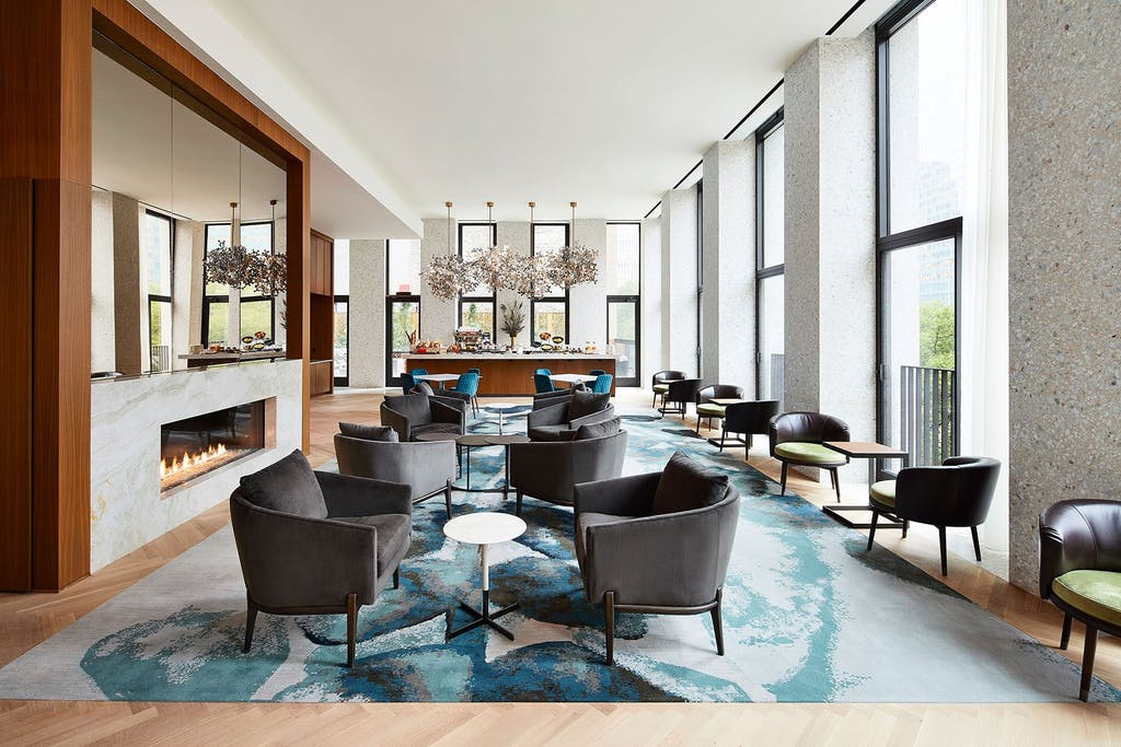 Midtown hotel lounge