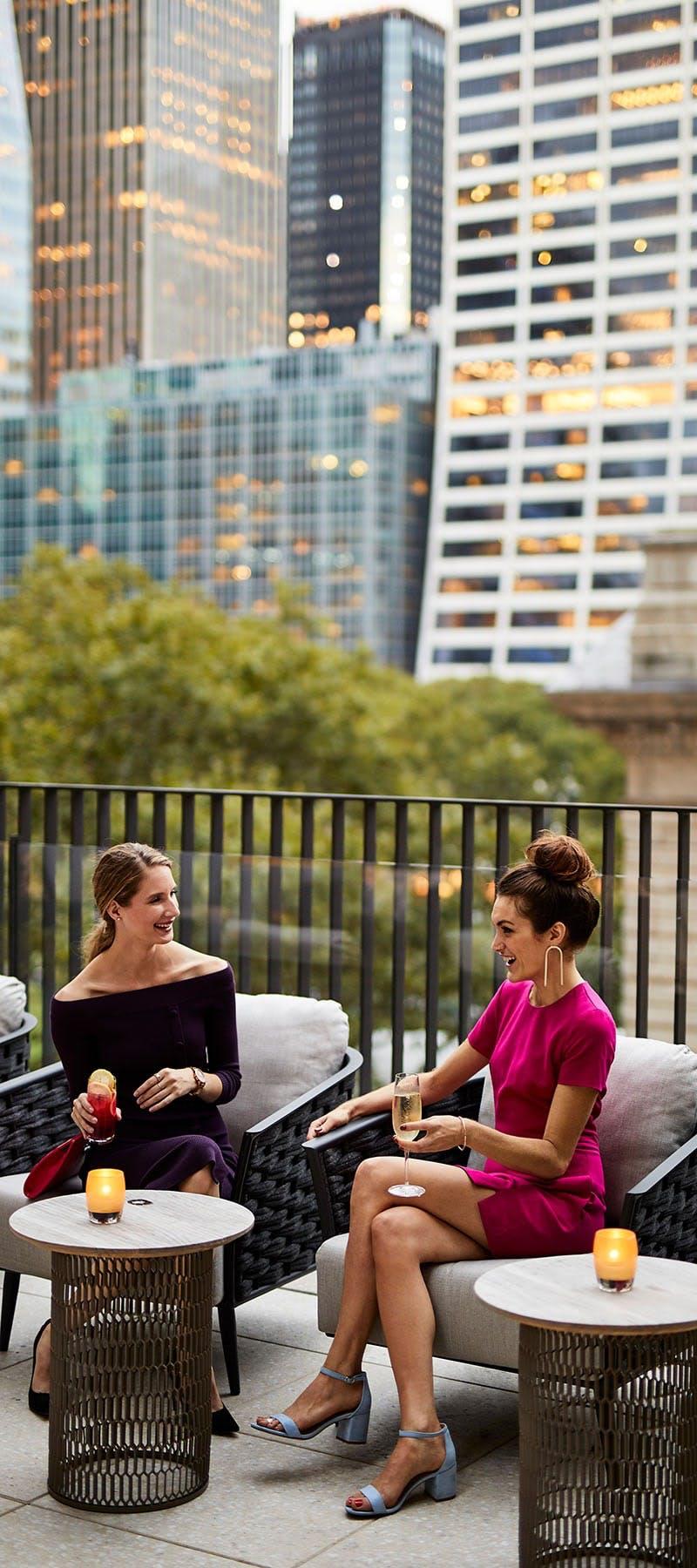 Midtown hotel terrace