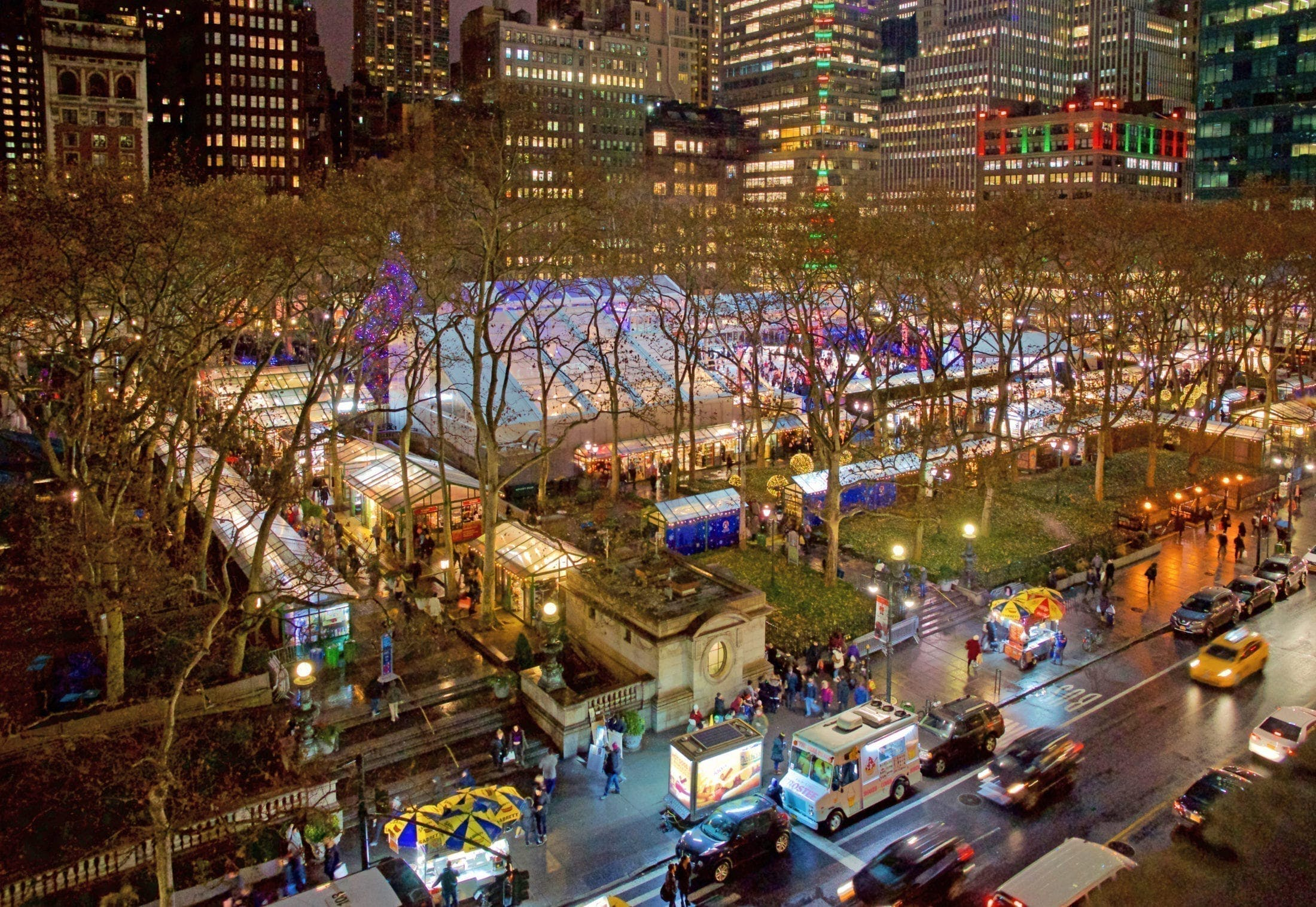 Winter in Bryant Park